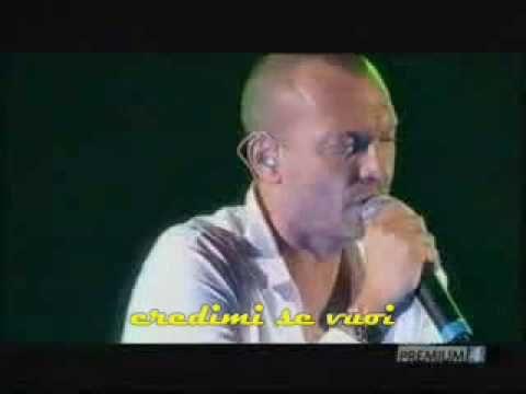 Biagio Antonacci - Se io, se lei (San Siro 2007) - YouTube