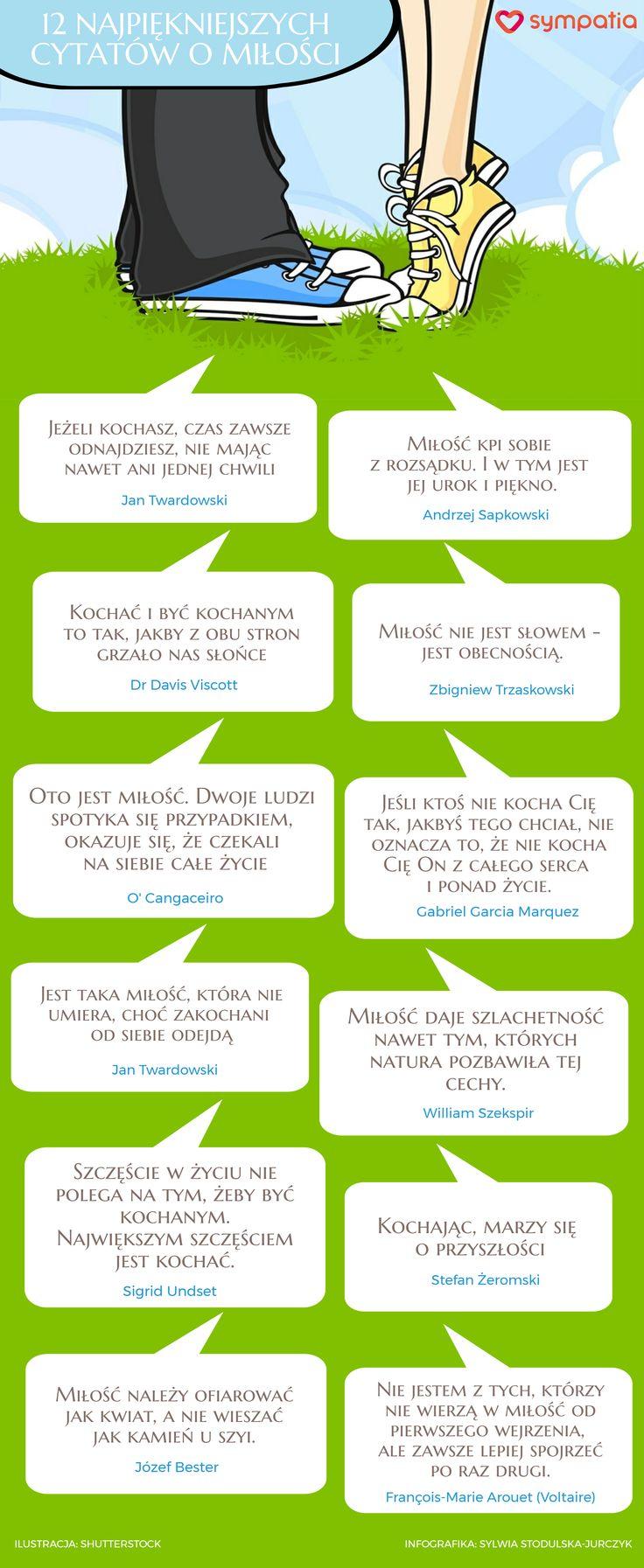 Najpiękniejsze cytaty o miłości według Sympatia.pl