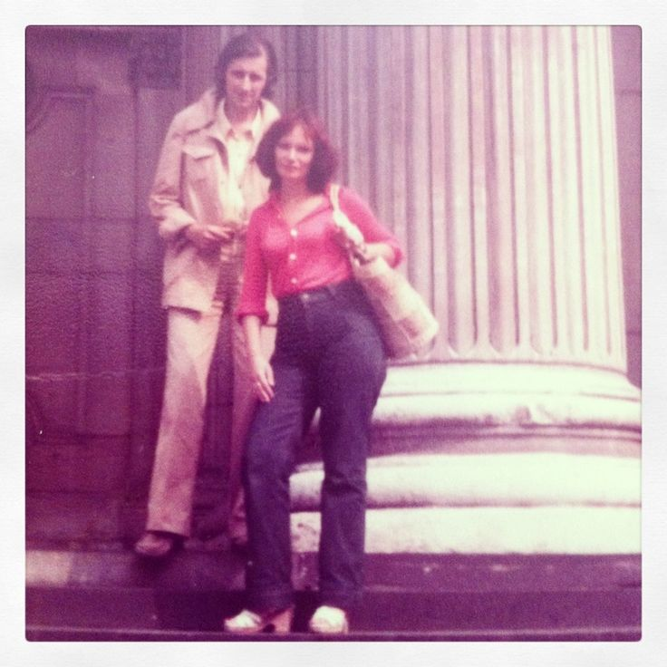 Mom and Dad. When in Europe, Summer of 1980.