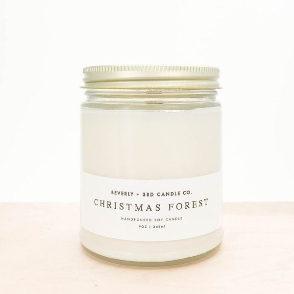 Wedding Registry Gift Ideas - #ad -Christmas Forest Soy Candle