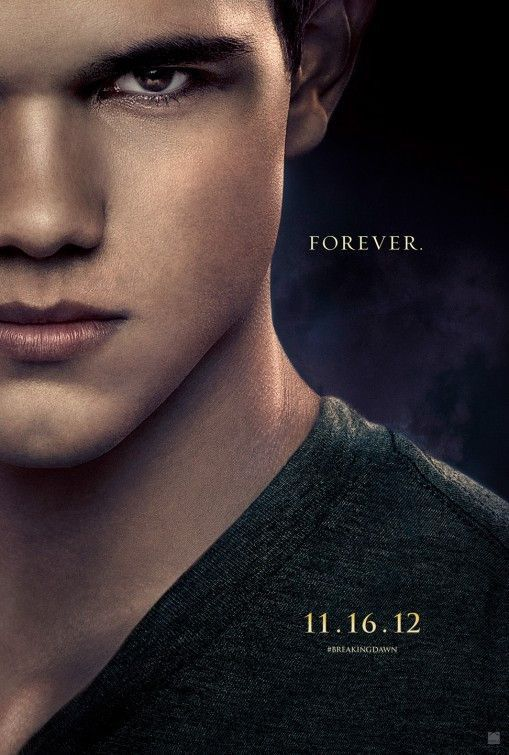 Twilight Breaking Dawn Part 2 – Jacob Teaser Movie Poster 27x40 Used Nikki Reed, Christian Camargo, Lee Pace, Wendell Pierce, Ty Olsson, Cameron Bright, Peter Facinelli, Kellan Lutz, JD Pardo, Robert Pattinson, Andrea Powell, Chaske Spencer