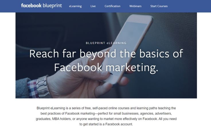 Facebook Blueprint eLearning
