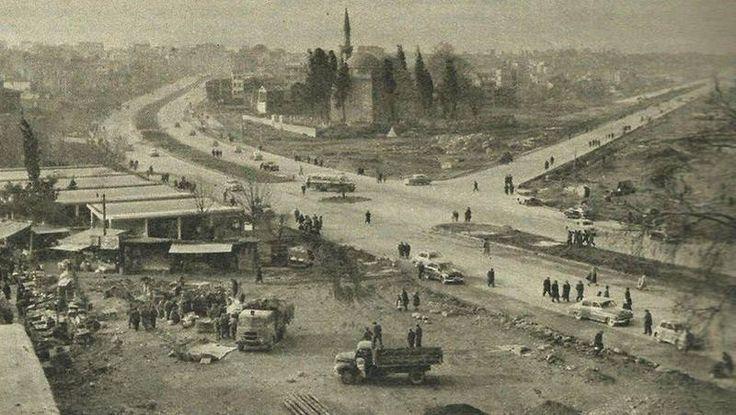 Aksaray Vatan ve Millet Caddeleri - 1957