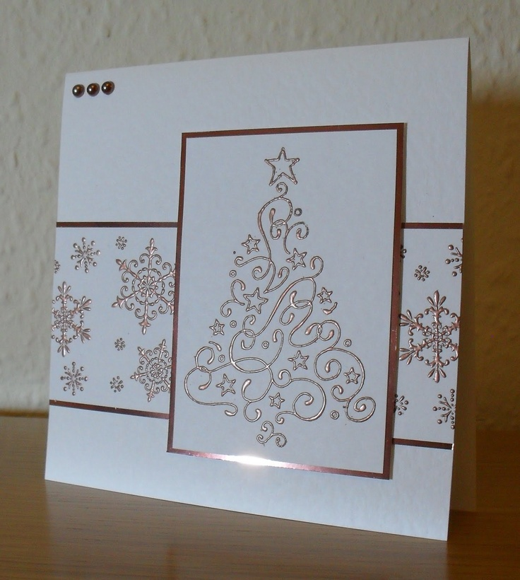 17 best ideas about embossed christmas cards on pinterest