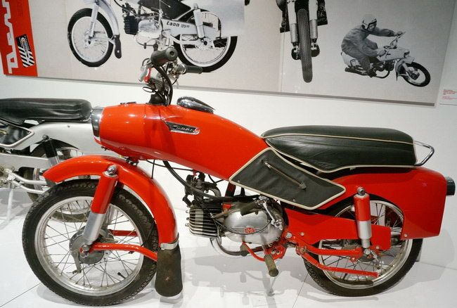 Moto Taon, Derny Motors, 1955-1957