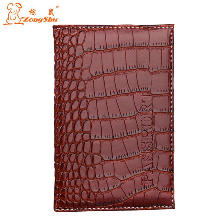 ZS 2015 New Arrived Candy Color Fashion Passport Cover Card Holder Unisex Travel Passport Holder crocodile grain passport case *** You can find out more details at the link of the image.
