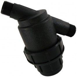Filtro para riego por goteo y para riego por exudación. Los cartuchos para filtro malla 120 mesh y 100 mesh son ideales para pequeños caudales.