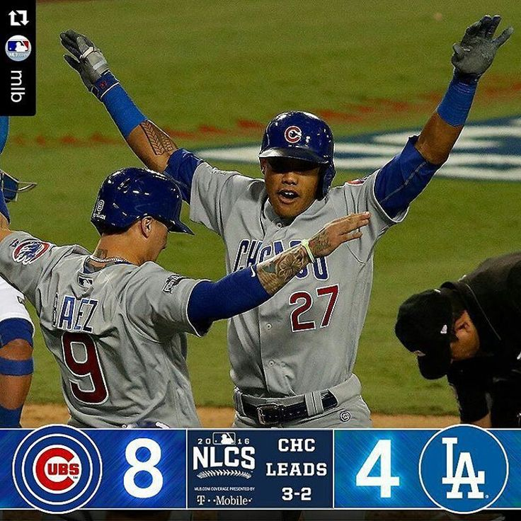 We'll definitely see what each of these teams are made of tomorrow night when the NLCS returns to Chicago. Does Kershaw have one more game in him to shut down the Cubs. Or do the Cubs kick down the door that has been closed to them since 1945. #NLCS...