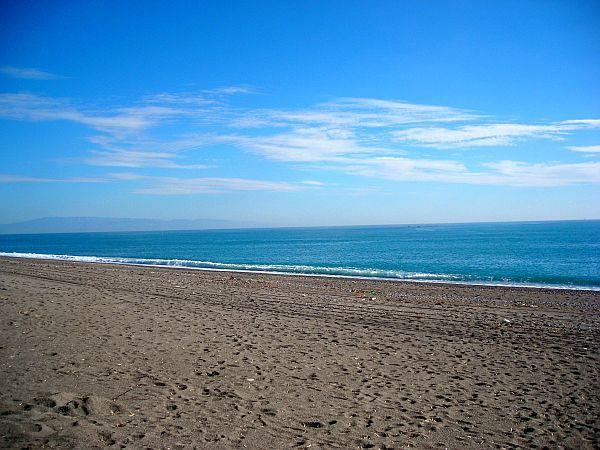 Marina di Cottone beach in Fiumefreddo di Sicilia -
