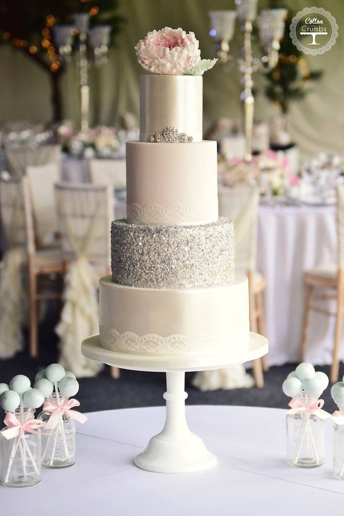 elegant white and silver wedding cakes 25 best ideas about silver wedding cakes on 13999