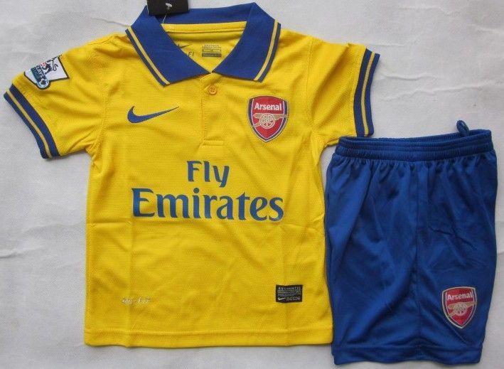 Arsenal Kit Infantil 2013/2014 Segunda Equipación [025] - €16.87 : Camisetas de futbol baratas online!