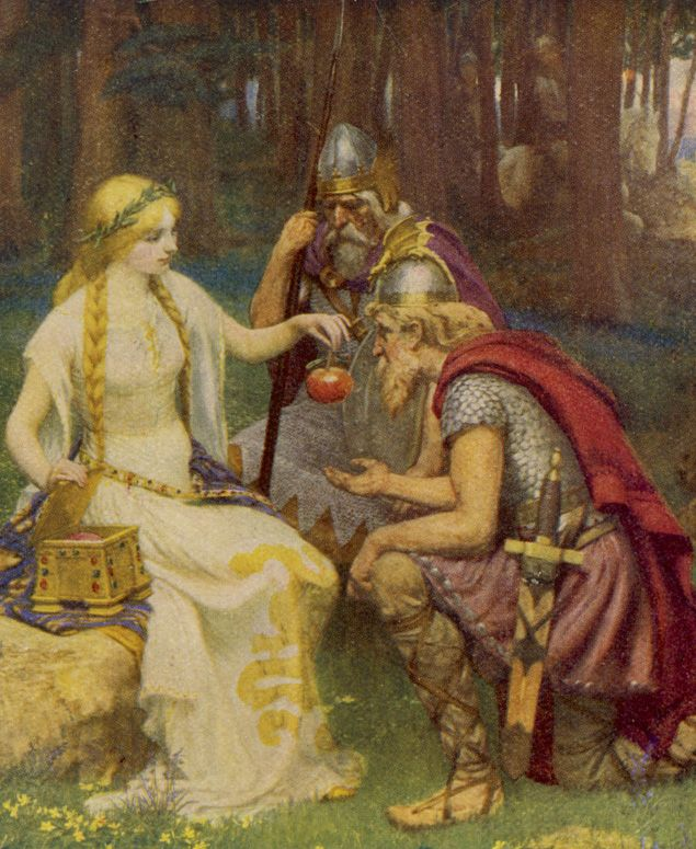 Guder i den nordiske mytologi - Religion.dk