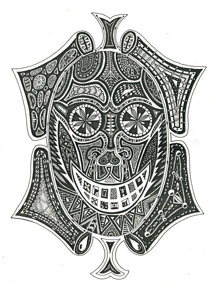 Grinning mask (c1983)
