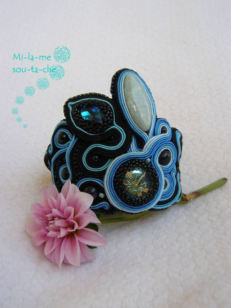 Design and made by Milame soutache
