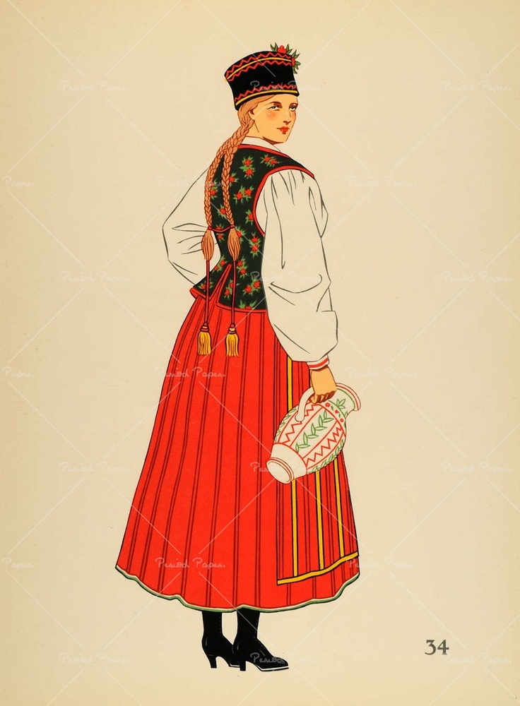 1939 Polish folk costume