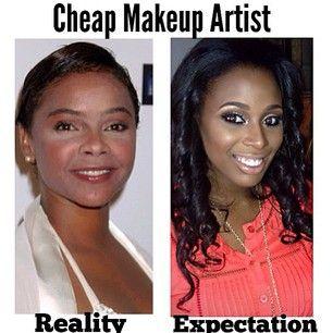 Bad makeup @Alyssa Nemeth