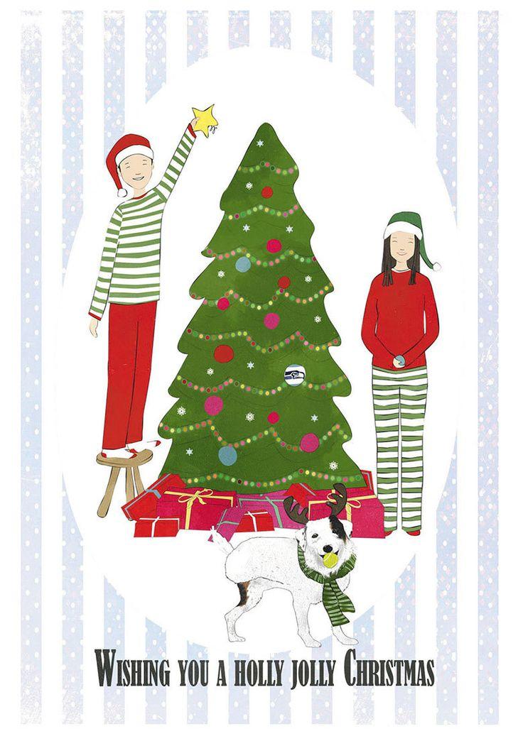 Merry Christmas Card-Christmas Gift