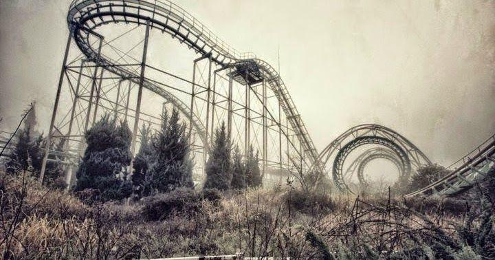 Los lugares más mágicos en los que ha desaparecido la presencia del hombre como parques de atracciones, minas, hospitales y hasta ciudades enteras