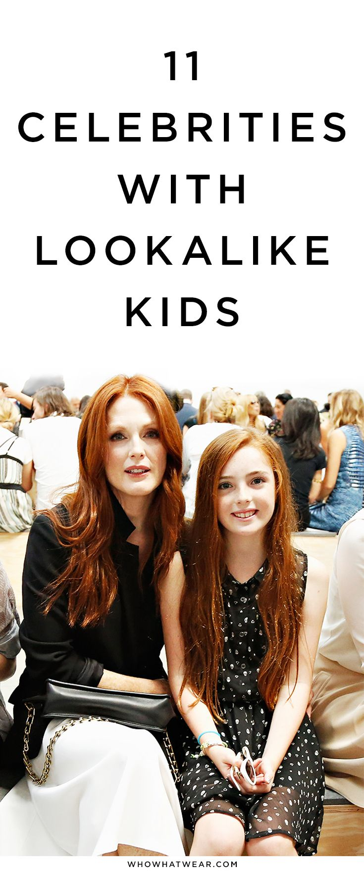 11 celebrities who have children who look just like them