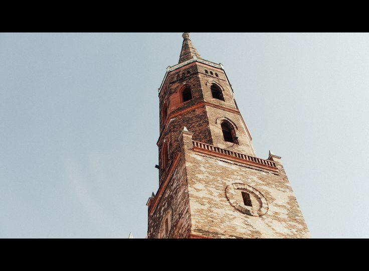 Wieża Kolegiaty w Głogowie