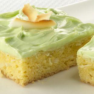 Key lime cake bites recipe