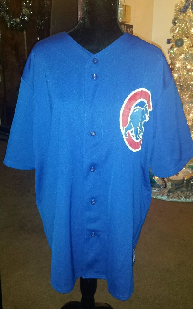 Chicago Cubs Carlos Zambrano #38 Blue Jersey #Majestic #ChicagoCubs