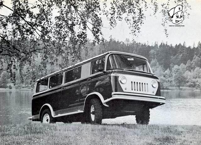 1958 Jeep Fc 170 Van Gentleman S Journal Pinterest