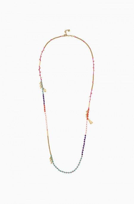 This colorful wood bead necklace can transform into a wrap bracelet. Look vibrant in our Reina Necklace in Multi, only at Stella & Dot.