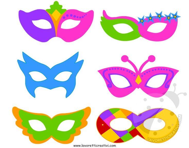 Set Maschere di Carnevale per bambini