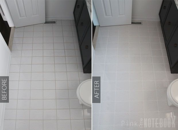 White Bathroom Tile Paint