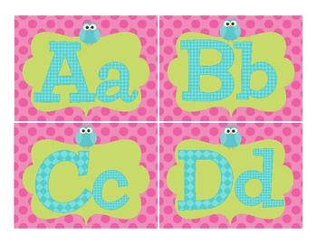 Owl Word Wall Labels - 3rd Grade's a Hoot - TeachersPayTeachers.com