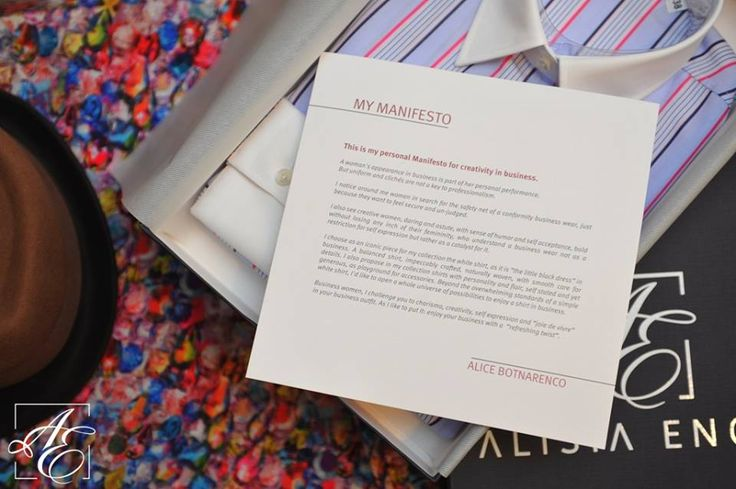 ALISIA ENCO is a brand created by Romanian businesswoman Alice Botnarenco. Learn more about the philosophy behind the name in Alice's #Manifesto for #Creativity in #Business: http://www.alisiaenco.com/manifestul-meu