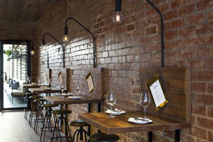 Luxurious Italian Diner Interiors : Restaurant in Amsterdam