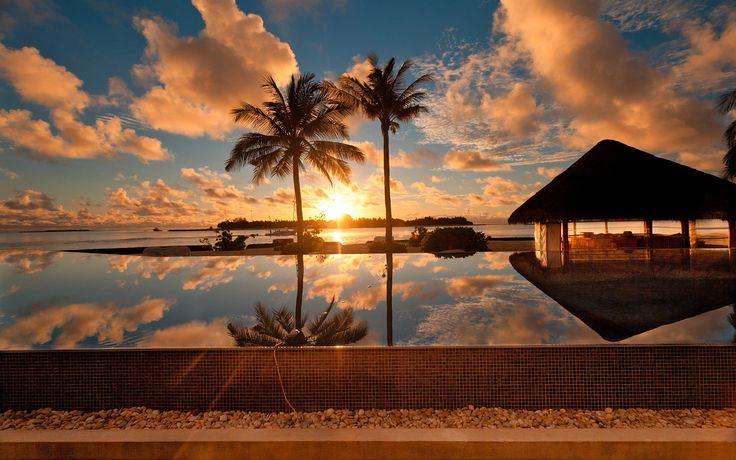 Beautiful Sunset Landscape