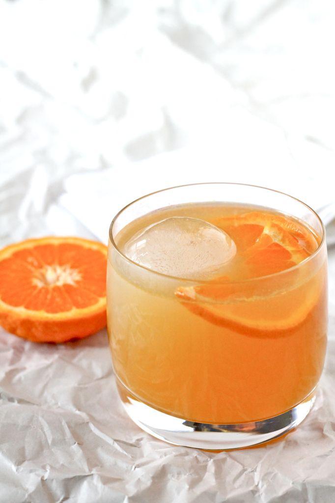 Woodford Reserve & Bacardi Tangerine Cocktail
