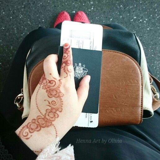 #Travelling in #style, #Zurich to #Melbourne  #henna #Switzerland #Australia #travel