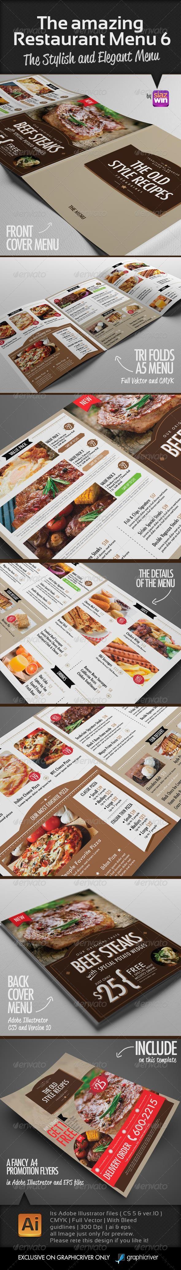 White apron menu warrington - The Amazing Restaurant Menu 6