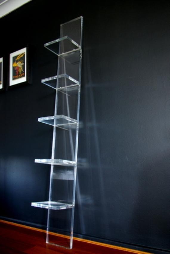 acrylic storage unit