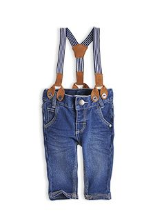 Pumpkin Patch baby kids fashion spring/summer collection 2013 denim jeans with braces