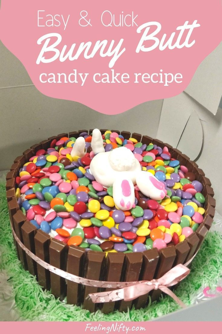 Cute Bunny Cake For Birthdays Easter Or Just Because Easy