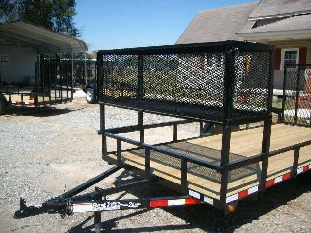 tandem 16' utility trailer heavy duty utility macon ga ...