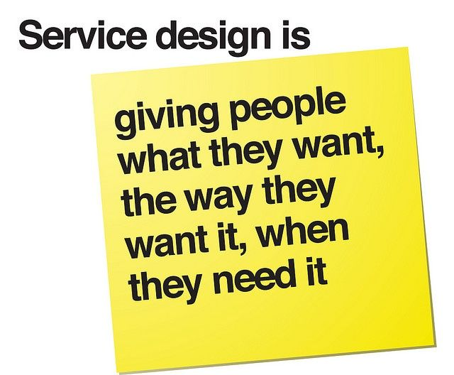 Servise design