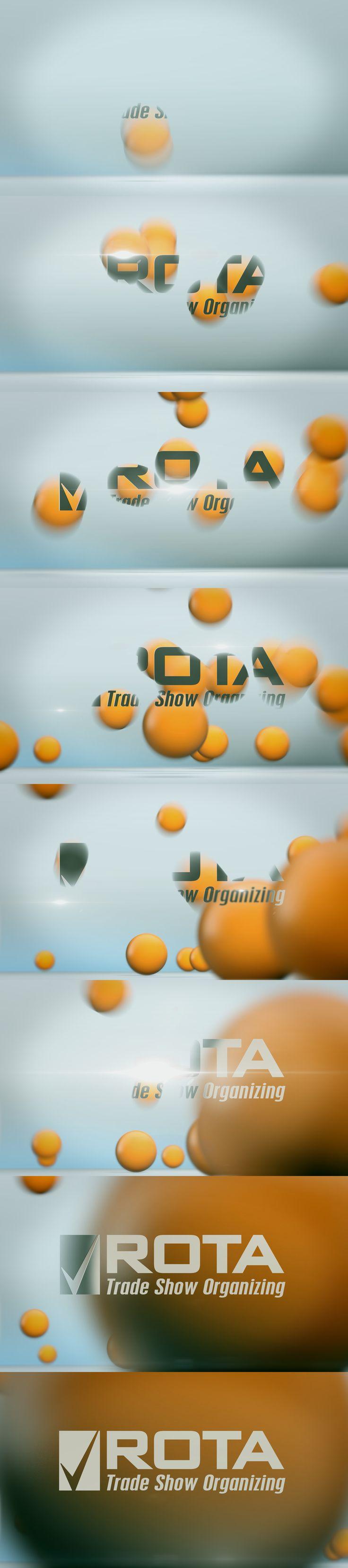 ROTA Trade Show Organizing Pack Shot Animation