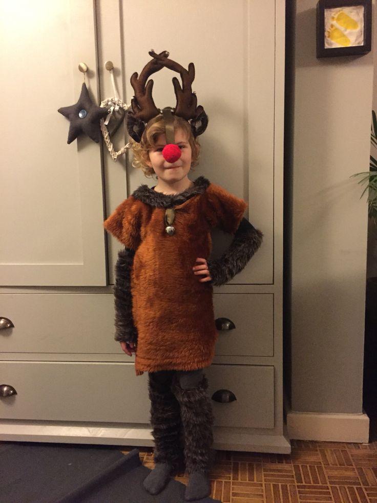 Reindeer costume DIY