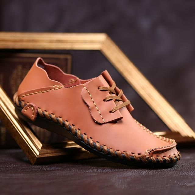 Merkmak Men Leather Shoes Casual 2017 Fashion Shoes For Men Designer Shoes Casual Breathable Big Size Mens Shoes Comfort