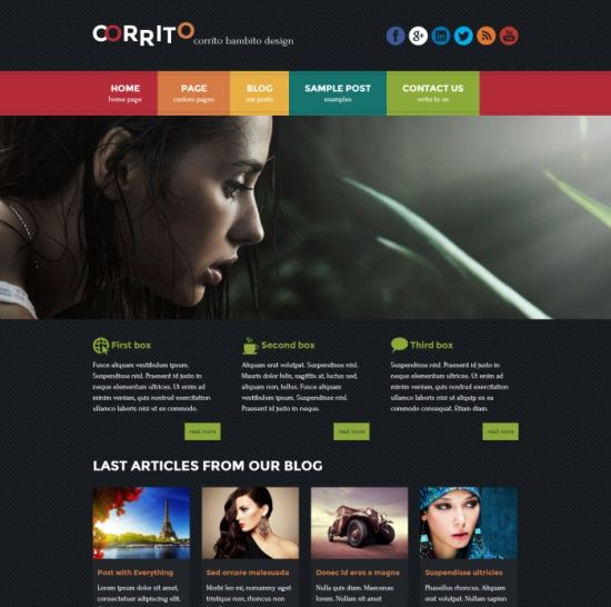 Free WordPress Themes From Themes4all.com