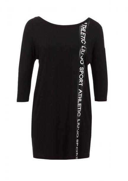Maxi T-Shirt | Black |  Liu Jo Sport