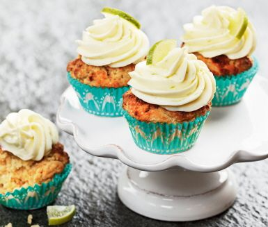 Recept: Potato cupcake med limetopping