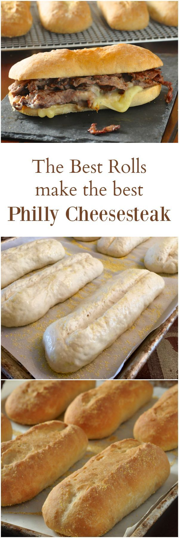 Homemade Philly Cheesesteak, a near perfect version of this famous sandwich that you can make at home, on the closest thing to an authentic cheesesteak roll I've ever tried.