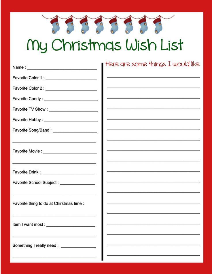 Best 25+ Santa wish list ideas on Pinterest Santa list, Santa - sample list